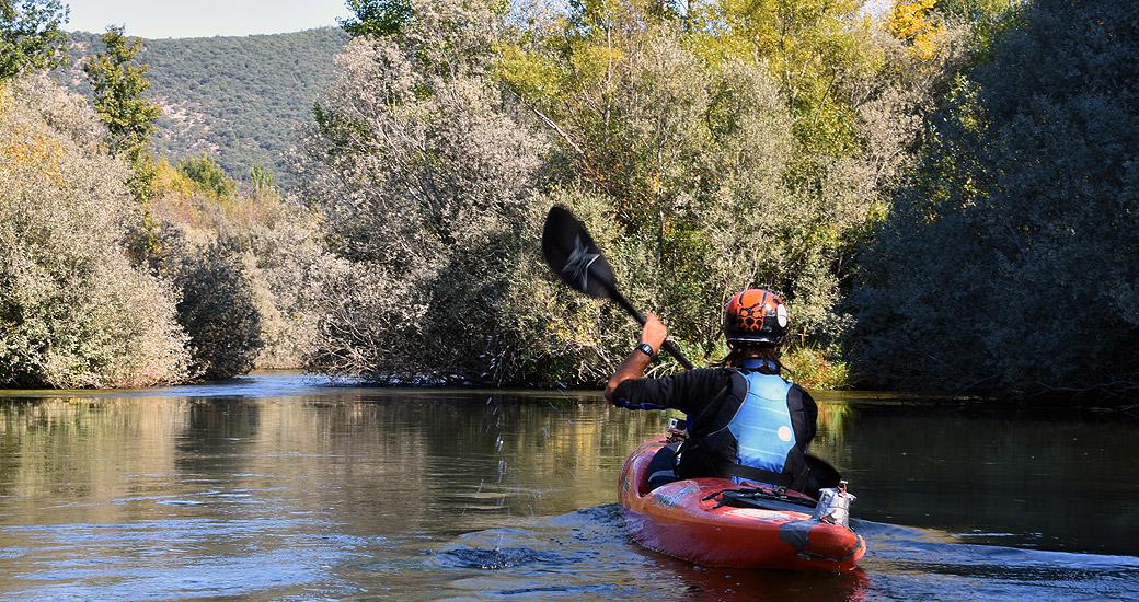 Río Duero en Piragua. Etapa 02