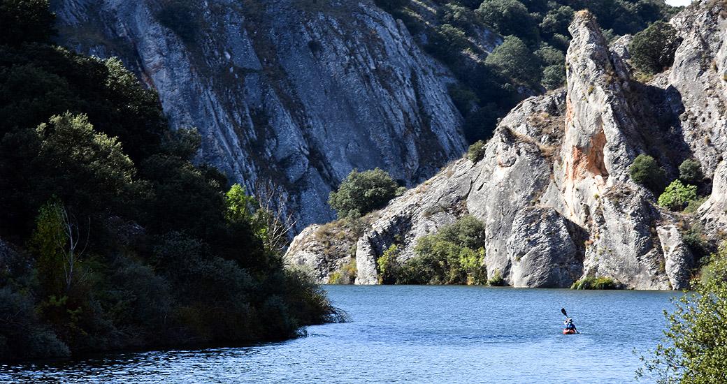 Río Duero en Piragua. Etapa 03