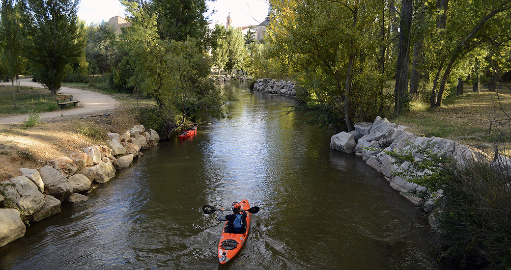 Río Duero en Piragua. Etapa 04