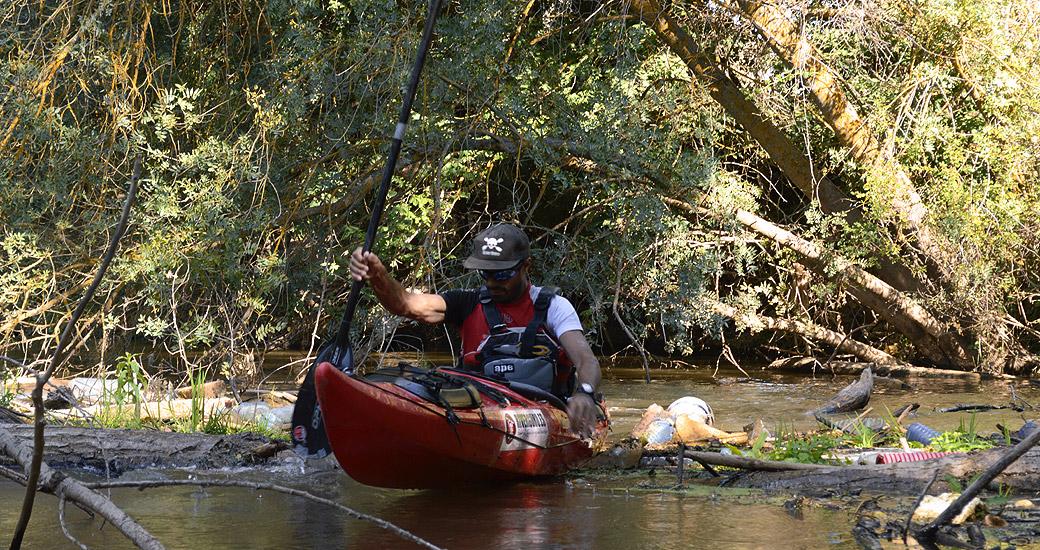 Río Duero en Piragua. Etapa 05
