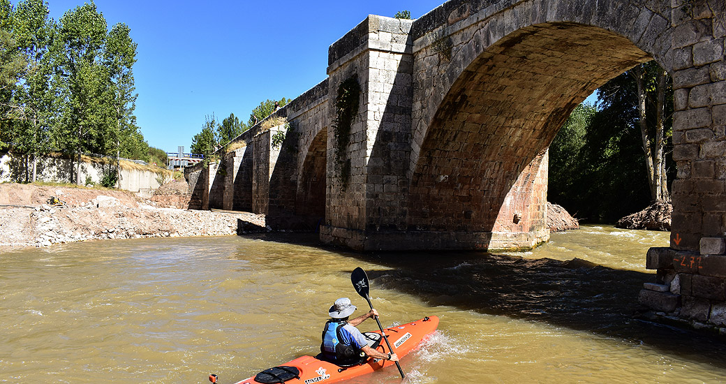 Río Duero en Piragua. Etapa 09