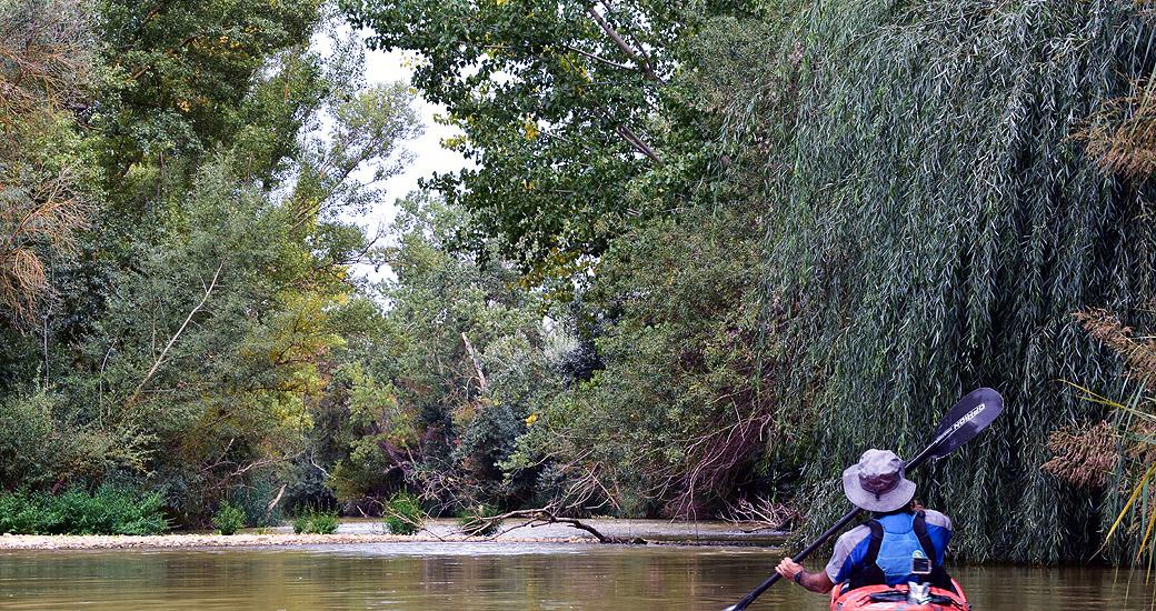 Río Duero en Piragua. Etapa 10