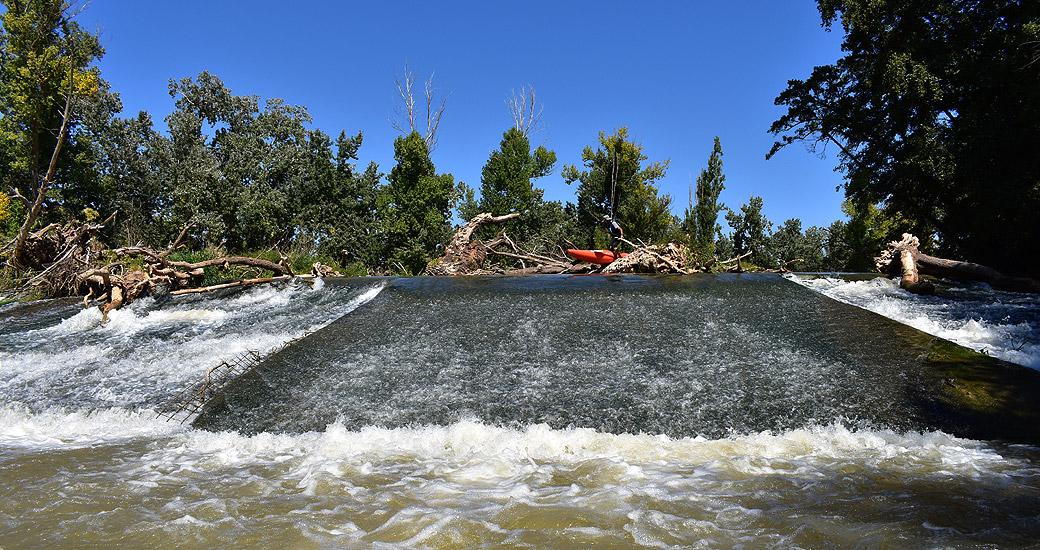 Río Duero en Piragua. Etapa 11
