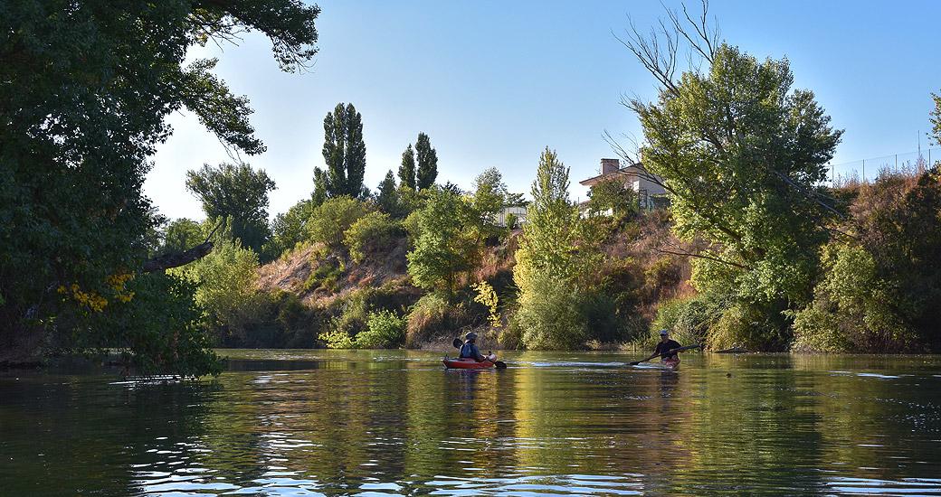 Río Duero en Piragua. Etapa 13