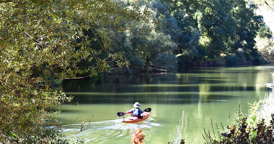 Río Duero en Piragua. Etapa 15