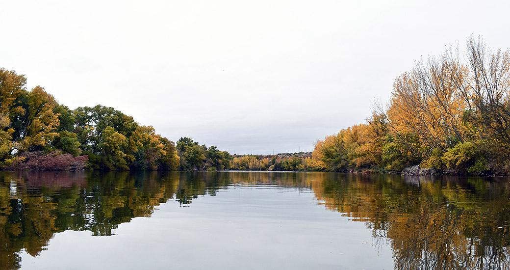 Río Duero en Piragua. Etapa 16