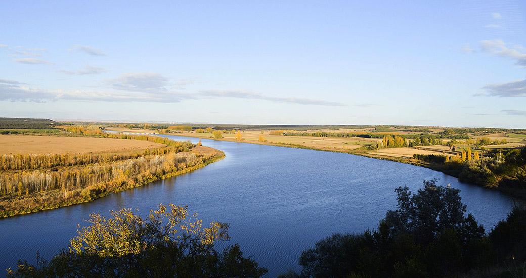 Río Duero en Piragua. Etapa 17