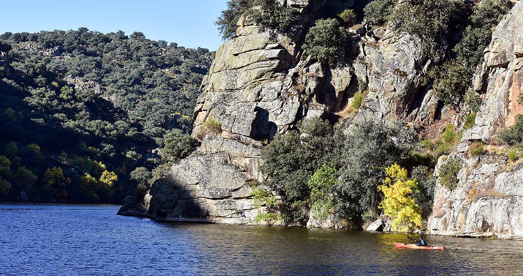 Río Duero en Piragua. Etapa 20