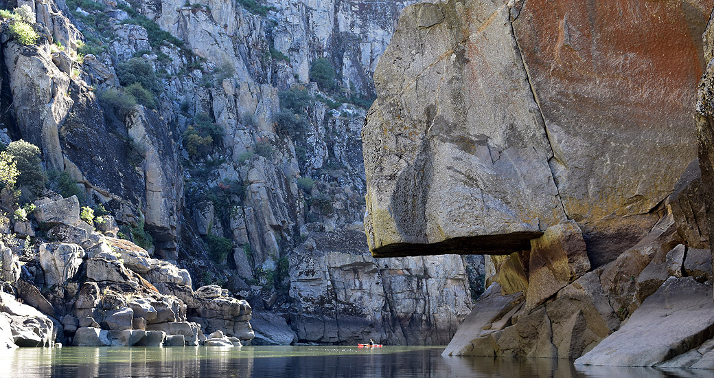 Río Duero en Piragua. Etapa 22