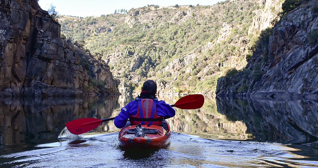 Río Duero en Piragua. Etapa 23