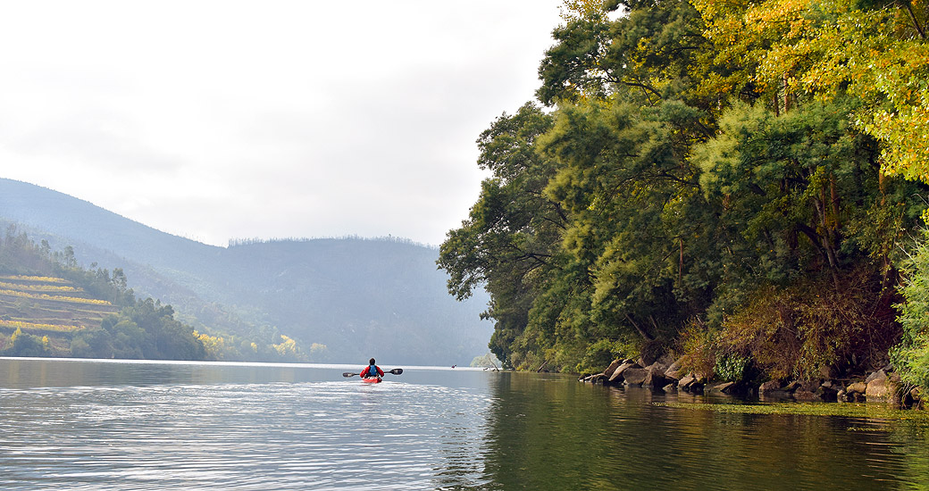 Río Duero en Piragua. Etapa 31